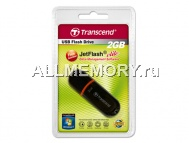 Флеш накопитель 2GB USB 2.0 JetFlash 300, Transcend, Black