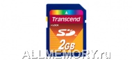 Карта памяти 2GB Secure Digital Card, Transcend