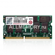 512MB SDRAM PC133 SO-DIMM CL3 Transcend