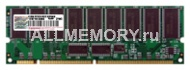 1GB SDRAM PC133 DIMM ECC Reg CL3 Transcend dual rank x4