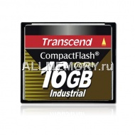 Карта памяти 1GB Industrial CompactFlash Card (UDMA4) 100X, Transcend