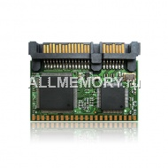 Цифровое устройство 1GB SATA FLASH DISK ON MODULE 22P Male, Transcend