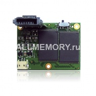 2GB SATA Flash Module, (SATA FLASH MODULE 7P Female (H)), Transcend